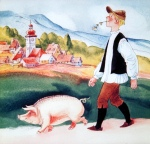 kurzer märchenfilm - hans im glück