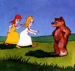 kurzer märchenfilm - schneeweisschen und rosenrot